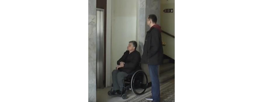 АРМ-ЕКО отремонтировала лифт для людей с инвалидностью (Львов)