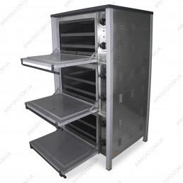 Трехкамерный жарочный шкаф АРМ-ЭКО ШЖЭ 3Ч