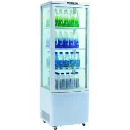 Фото Шкаф-витрина холодильная EWT INOX RT215L
