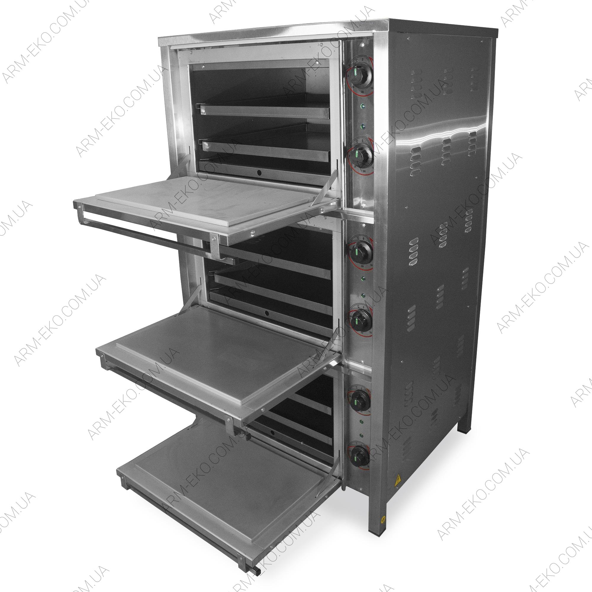 Трехкамерный жарочный шкаф АРМ-ЭКО ШЖЭ 3Н